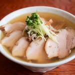 麺 匠仁坊 - お魚あっさりラーメン 肉増し@税込830円