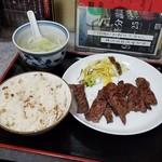81407121 - 「牛タン焼定食 (2000円)」
