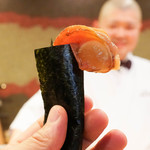 照寿司 - 赤貝ひも