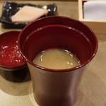 照寿司 - 味噌汁