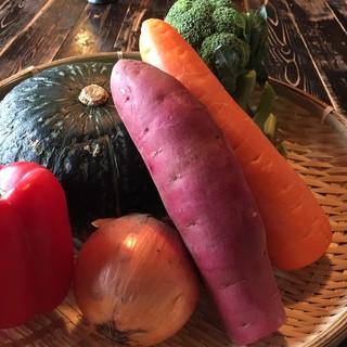 野菜ソムリエが選ぶ新鮮野菜☆