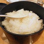 四川飯店 - ご飯のおかわり