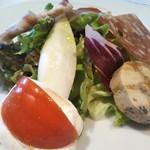 アンティコ カステッロ - 料理写真:前菜