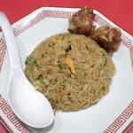 81411872 - 昼飯セットA(半チャーハン+ミニ唐揚げ2個)
