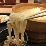 能古うどん - コシの無い柔らかな麺