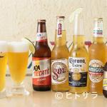 エルトリート - メキシコ料理と本格的なメキシカンビール『コロナ』と『テカテ』