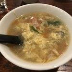 中華料理 八戒 - たまごスープ