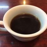 中国料理 盛隆 - ランチに付くコーヒー