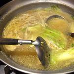 流 - 鍋、写真撮る前に食べちゃいましたσ(^_^;)