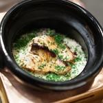 虎白 - お食事 鯛と生姜の炊き込みご飯