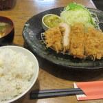 とんかつ 豚ゴリラ - ロースかつ(小)定食