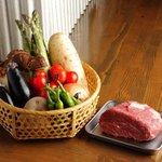 串かつ かつ~ん - 国産牛とこだわりの有機野菜