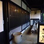東京庵別館 - 入口の辺りから・・・