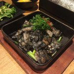 九州薩摩地鶏の個室居酒屋 九遠 - 熟成鶏の炭火鉄板焼き