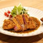 和食 いし津 - ☆佐賀牛のレアカツ 3180円