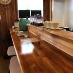 カフェ コティー - 前回と同様、カウンターでオーナーとの会話を楽しみます♪(2018.2.24)