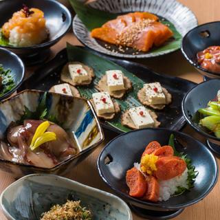 日本各地の郷土料理(珍味)を味わう