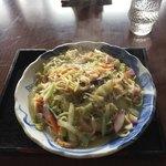 有田屋 - 料理写真:太麺皿うどんです。
