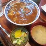 更科 京屋 - カレー丼