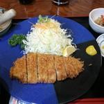 とんかつ 櫻家 - 極上ロースカツ定食 1500円