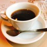 アガノ - セットのコーヒー ホットコーヒーは、おかわり自由