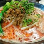 東京担々麺  ゴマ哲 - 赤担々麺 860円