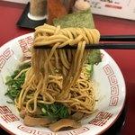 ラーメン たんろん - 麺屋棣鄂(ていがく)の麺を使用