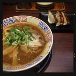 まっち棒 - 中華そばにランチ餃子 800円