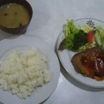 エチゴヤ - 上ソテー定食(200g)   税込880円