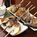 【其の1】魚串焼き・おまかせ5本