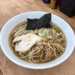 麺屋十郎兵衛 - 煮干拉麺(あっさり)