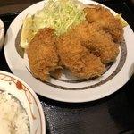 ときわ食堂 - カキフライ定食