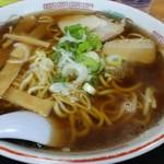 あっちっち - 料理写真:本中華太麺大盛り。