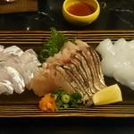 博多味処 灯 - 太刀魚、鰆炙り、水イカ
