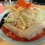 郎郎郎 - ファイヤー麺(並4辛)