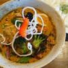 スパイスカフェ ベロデカ - 料理写真:北海道産桜姫鶏(黒旨スープ)(1200円)