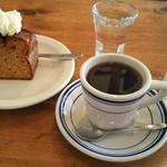 オキーフ - コーヒー美味しくてブラックで頂きました(^-^)