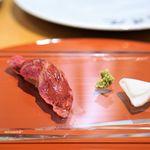 肉屋 雪月花 NAGOYA - 赤身握り寿司