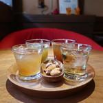 梅酒バー アプリシエ - すっぱい・スッキリ梅酒セット