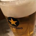 大衆食堂 むらやま屋 - 「生ビール」190円也。