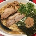 浅草製麺所 - 醤油ラーメン大盛り