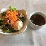 東海カントリークラブレストラン - サラダ スープ