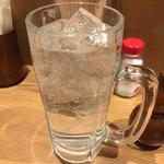 そば田 - キンミヤ焼酎