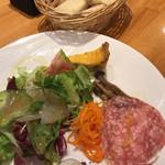 オステリア ラ マンテ 泉店 - 前菜