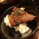 咲椀 - 炭焼き味噌豚重