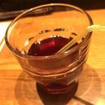 咲椀 - ドリンク飲み放題   食前酢にぶどう酢で
