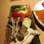 しゃぶ焼 ふくのや - しゃぶ焼 野菜