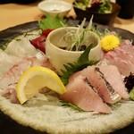 """81450048 - 天然魚の """"お造り"""""""