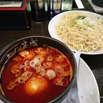 タンメン笑盛 - つけ麺激辛味噌タンメン(880円)
