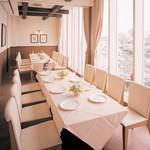【土日祝限定・個室確約】スパークリング付き&カフェおかわり自由!イタリアンランチ